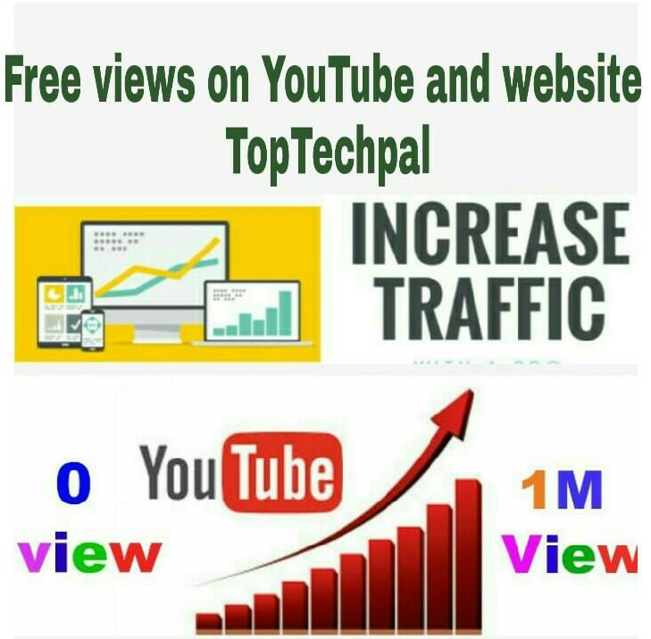 Free views on YouTube and website
