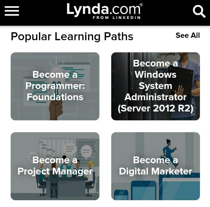 Free Lynda account