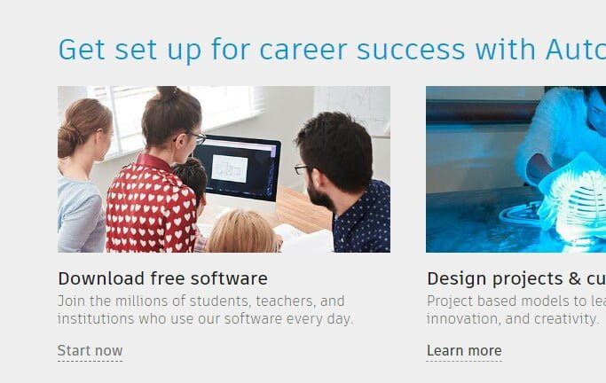 autodesk education for free