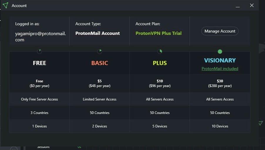 vpn for pc free. Premium vpn proton vpn premium plus for free