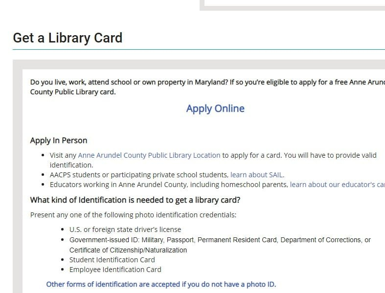 How to get library card for free