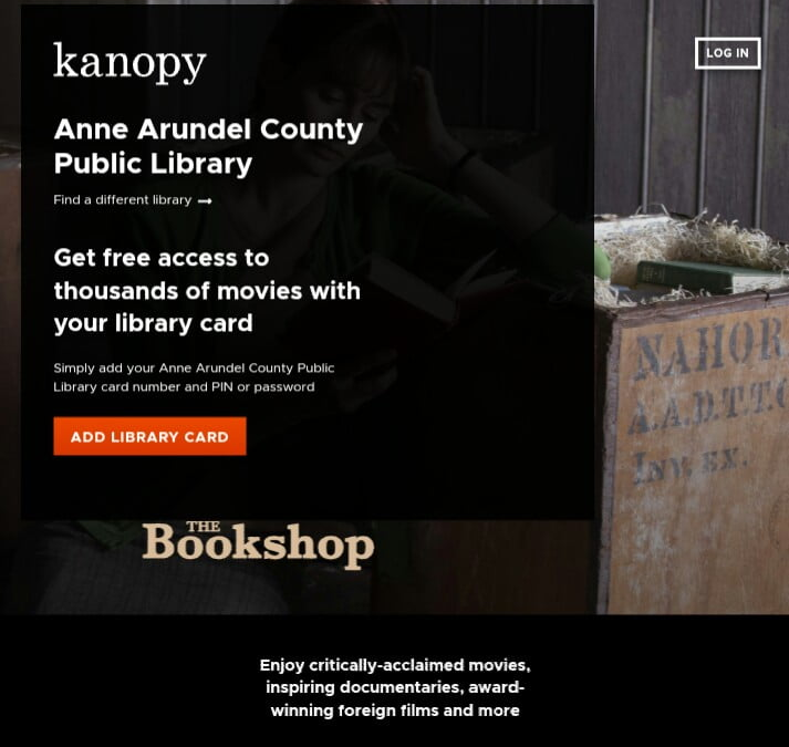 How to get kanopy for free