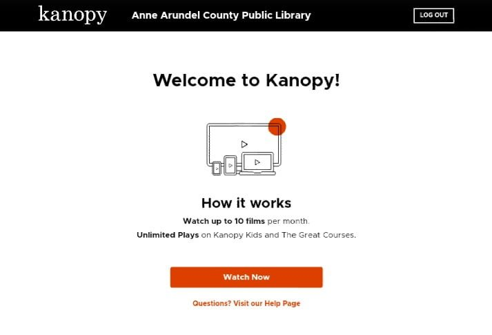 How to get free kanopy