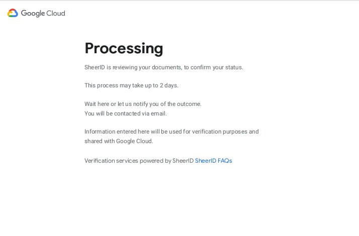 How to get google cloud for free