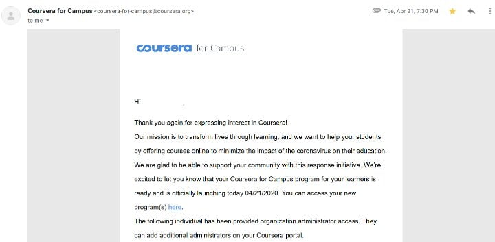 How to get Coursera for free with certificate
