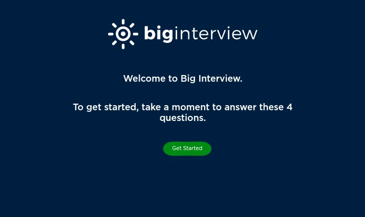 Big interview- Interview coaching