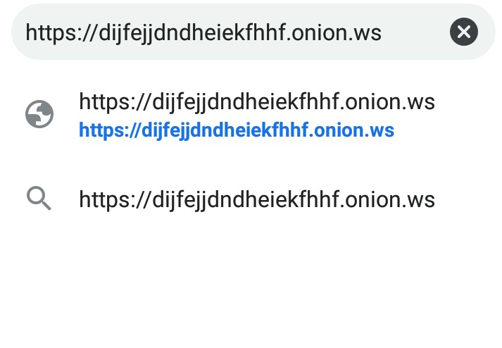 Open onion sites links from iphone