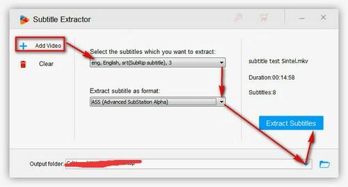 Subtitle extractor