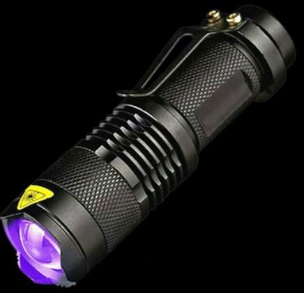 flash light - Ghost hunting tools