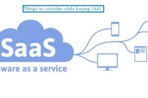 Buying SAAS