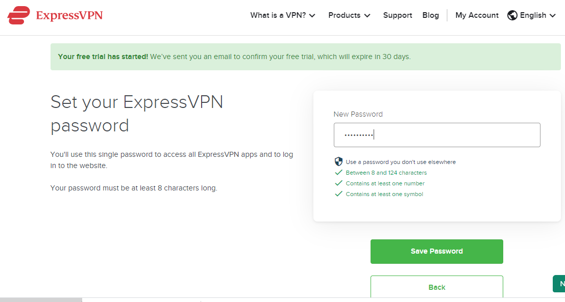 How to get 1 month free express VPN trial