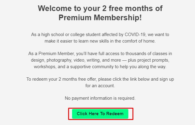 free skillshare premium