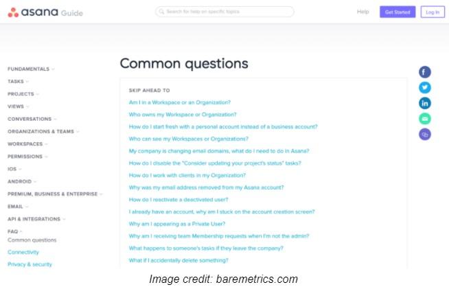FAQs - baremetrics