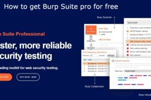 How to get burp suite pro for free