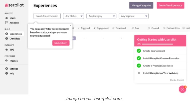 optimize customer success- userpilot