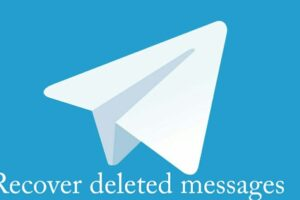 How to recover deleted telegram messages