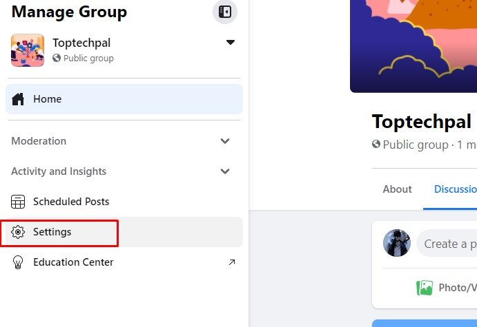 change name of group on facebook