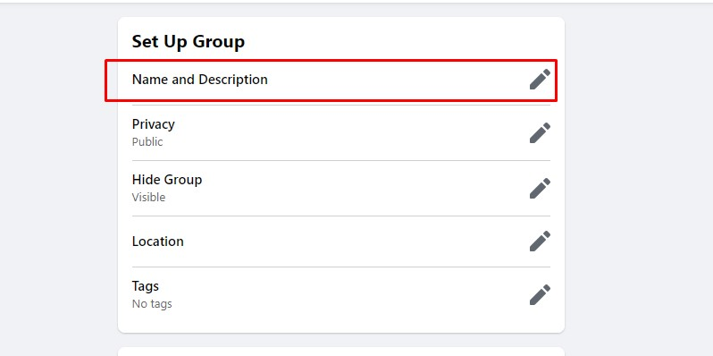 change your facebook group name