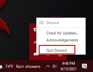 close discord - pre solution discord rate limited issue