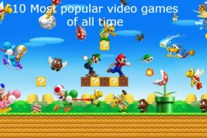 most popular video games of all time