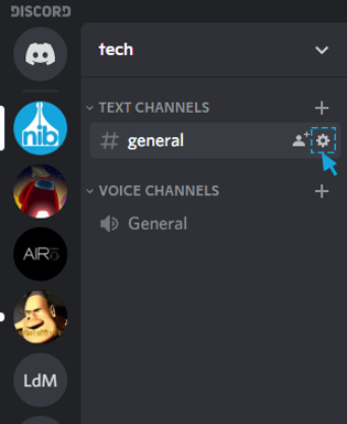 turn on slow mode on discord from pc