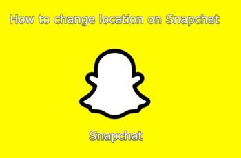 How to change location on snapchat